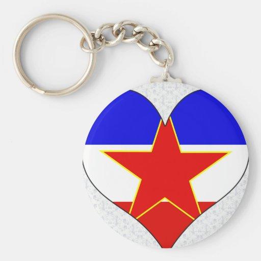 Amo Yugoslavia Llavero