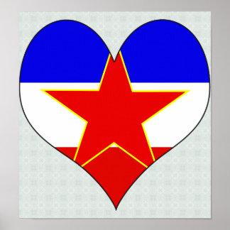 Amo Yugoslavia Póster