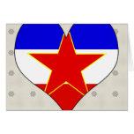 Amo Yugoslavia Tarjetas