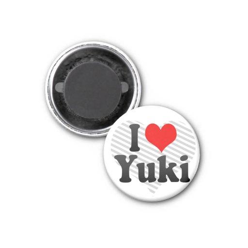 Amo Yuki, Japón Iman Para Frigorífico