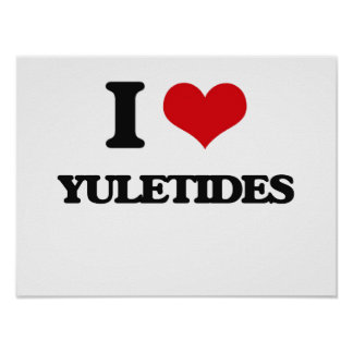 Amo Yuletides Póster