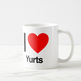 amo yurts taza clásica