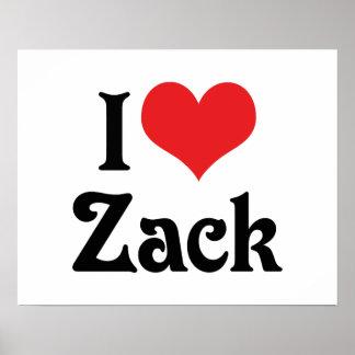 Amo Zack Póster