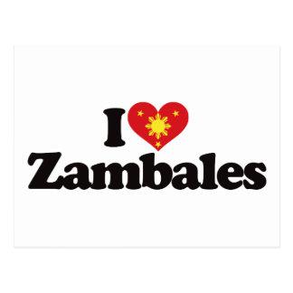 Amo Zambales Tarjeta Postal