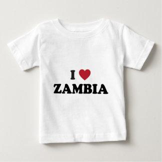 Amo Zambia Playera De Bebé