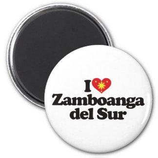 Amo Zamboanga del Sur Imán Redondo 5 Cm