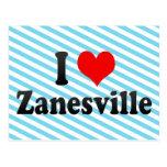 Amo Zanesville, Estados Unidos Postales