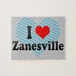 Amo Zanesville, Estados Unidos Rompecabeza Con Fotos