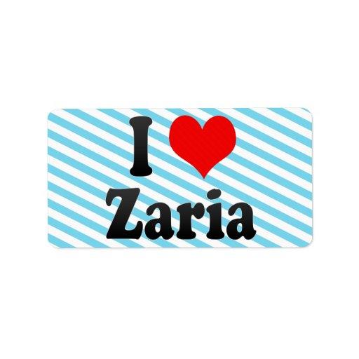 Amo Zaria, Nigeria Etiquetas De Dirección