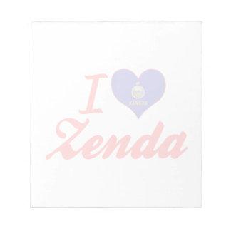 Amo Zenda Kansas Bloc De Papel