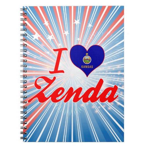 Amo Zenda, Kansas Cuaderno