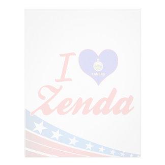 Amo Zenda Kansas Membretes Personalizados