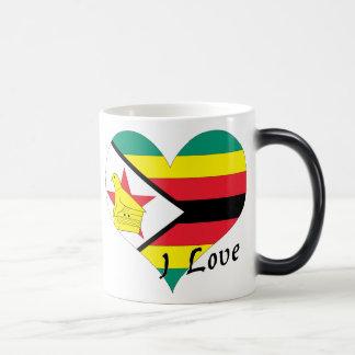 Amo Zimbabwe Taza Mágica