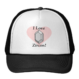 ¡Amo Zircon! Impresión Gorras De Camionero