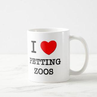 Amo zoo-granja taza básica blanca
