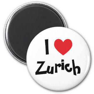 Amo Zurich Imán Redondo 5 Cm