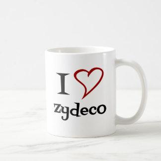 Amo Zydeco Taza De Café