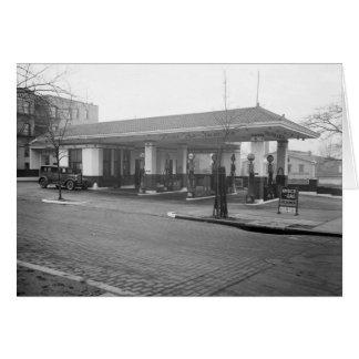 Amoco Gas Station, 1925 Card