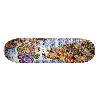 """Amoeba Art"" Board Skate Board Deck"