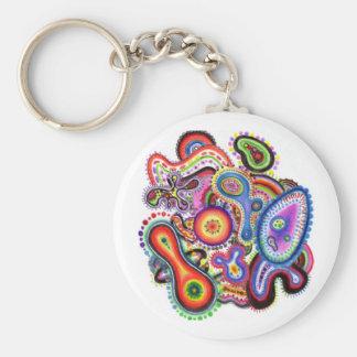 """""""Amoeba Art"""" Eco Keychain"""