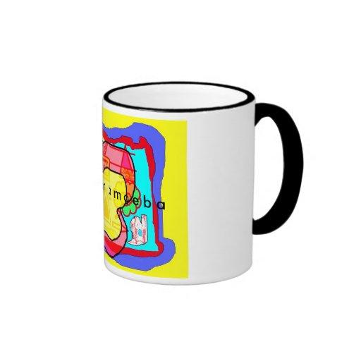 Amoeba Colour Splash Mugs