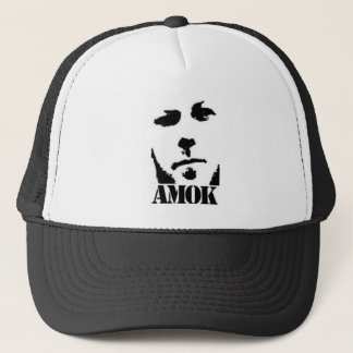 AMOK TRUCKER HAT (black)