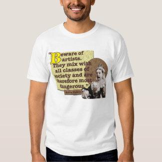 AMOKArts Beware of Artists Tshirts