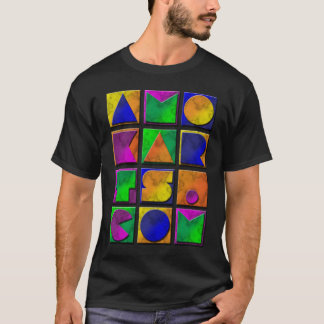 AMOKArts  Graphic on black T-Shirt