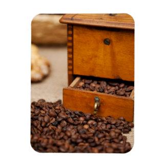 Amoladora de café vieja imán flexible