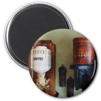 Amoladora de la poder de café y de café imán redondo 5 cm