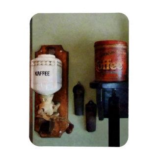 Amoladora de la poder de café y de café imanes