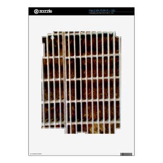 Amoladora de tierra del metal iPad 2 skin
