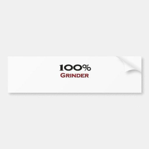 Amoladora del 100 por ciento pegatina para auto