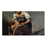Amoladora del cuchillo de Francisco Goya- Tarjetas De Visita