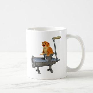 Amoladora del gato tazas
