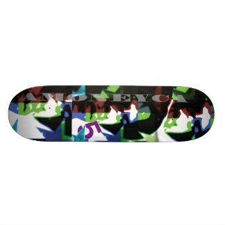 Amoneyca BOBPOPO downhill Skateboard Deck