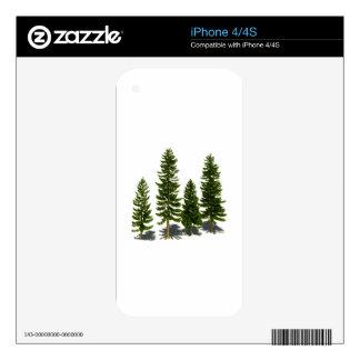 Among the Evergreens iPhone 4 Skin