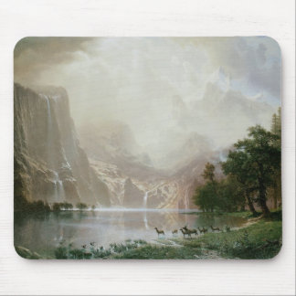 Among the Sierra Nevada Mountains, California Mouse Pad