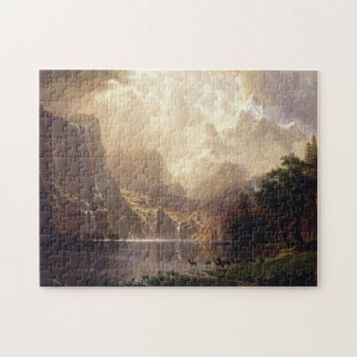 Among The Sierra Nevada Mountains Jigsaw Puzzle