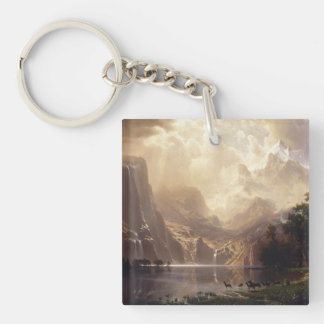 Among The Sierra Nevada Mountains Keychain