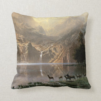 Among the Sierra Nevada Mountains Pillow