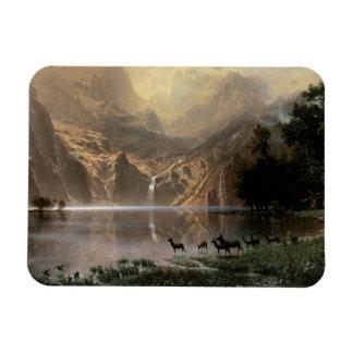 Among the Sierra Nevada Mountains Rectangular Photo Magnet