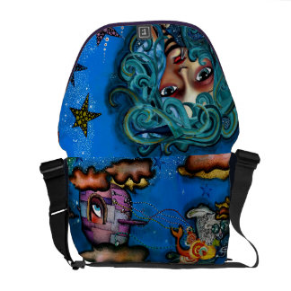 Among the stars courier bags