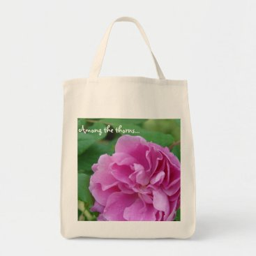 trsanders Among the thorns... organic shopping bag