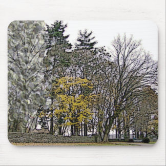Among The Trees Mouse Pad