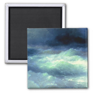 Among the Waves 2 Inch Square Magnet