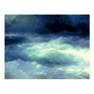Among the Waves Postcard