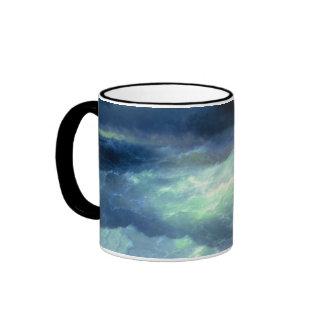 Among the Waves Ringer Coffee Mug
