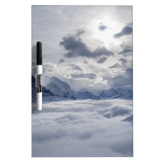 Amongst the clouds dry erase board
