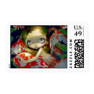"""""""Amongst the Koi"""" Stamp"""